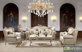 European Living Room Furniture Upholstery Living Room Set European Classic Design