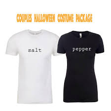 Halloween Shirts Salt And Pepper Costume Halloween Costume Couples