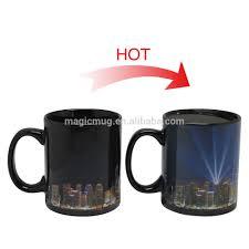 sedex smeta 4 pillars magic heat sensitive color changing mug