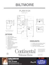 Arizona House Plans Floor Plans For The Biltmore Models Inside Arizona Traditions An