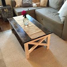 Cottage Coffee Table Cottage Chic X Coffee Table Forget Them Not Home Decor Regarding X