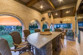 covered outdoor living spaces outdoor fireplace archives texas custom patios