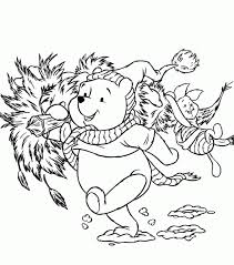 winnie pooh piglet coloring pages kids coloring