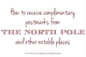 letters from santa pole postmark letters from santa julie blanner