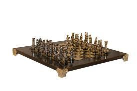beautiful chess sets greek roman army metal chess set amazon co uk toys u0026 games