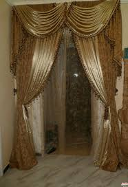 Brown Gold Curtains Two Curtain Window Door Panel Valances Grommet Or Scarfe