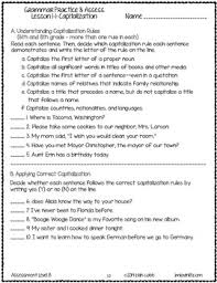 grammar worksheets and tests grade 6 no prep printables by lovin lit