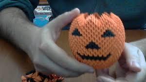 Youtube Halloween Crafts - how to make 3d origami halloween pumpkin youtube