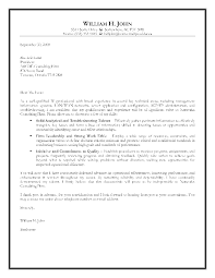 sample information security cover letter information technology