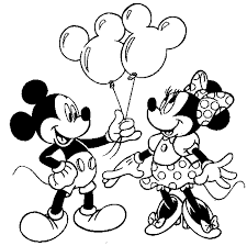 free minnie mouse printables mouse coloring pages 7 mickey