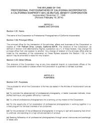 california professional law corporation bylaws fill out online