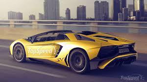 lamborghini aventador sv top speed lamborghini confirms aventador sv roadster motoroids