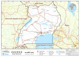 Map Of Uganda 2 3 Uganda Road Network Logistics Capacity Assessment Wiki