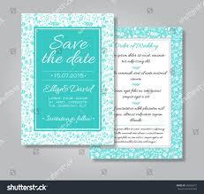 Shadi Invitation Cards Vector Wedding Invitation Card Set Floral Stock Vector 302630471