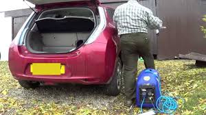 nissan leaf ev range generator and nissan leaf youtube