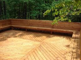 Deck Bench Bracket Bench Bench Seat Deck Railing Deck Bench Brackets Wood Design