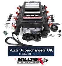 audi s4 v6 supercharged audi superchargers uk chooses milltek as its exhaust partner