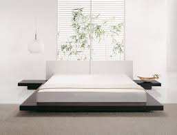 Wooden Bed Beliani Wooden Bed Japan Style Super King Size With Side