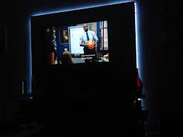 led strip lights for tv i made my own floating shelf tv unit u2013 diy already