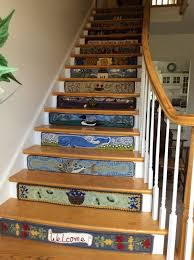 115 best hooked stairs images on pinterest punch needle