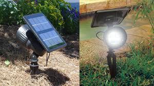 Solar Spot Lights Outdoor Highlighting Certain Features 18 Amazing Solar Spot Lights High