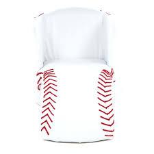 baseball chair and ottoman set baseball chair and ottoman rare red leather baseball glove chair for