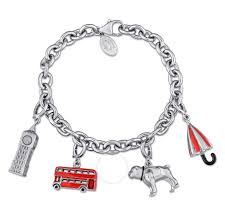 themed charm bracelet great britain collection themed charm bracelet in