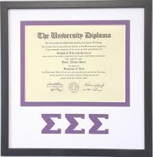 certificate frame sigma sigma diploma document certificate frame black