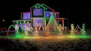 christmas lights trista lights 2016 christmas light show featured on abc s the