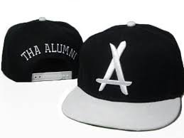 alumni snapbacks tha alumni snapback hats caps black white 5892 only 8 90usd
