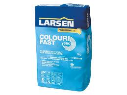 Floors R Us by Larsen Flexible Colour Fast Grey Grout 10kg Tiles R Us