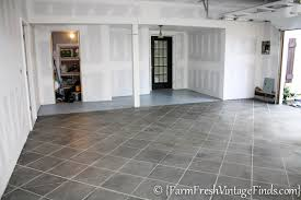 how to pimp your garage floor on a budget and make it look like
