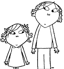 charlie and lola coloring pages wecoloringpage