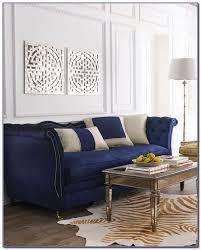 Velvet Sectional Sofa Navy Blue Velvet Sectional Sofa Sofas Home Decorating Ideas