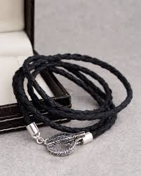black thread bracelet images Buy nautical black thread circle band bracelet online india voylla jpg