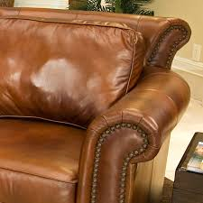 Rust Sofa Paladia Leather Sofa In Rustic Brown Dcg Stores