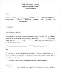printable blank lease agreement form 17 free word pdf