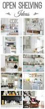 open shelving ideas how to style town u0026 country living