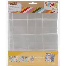 Scrapbook Page Protectors Simple Stories Page Protectors