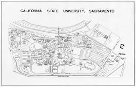 Mount Sac Map Sacramento State Campus Map Image Gallery Hcpr