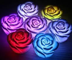 changing flower lights