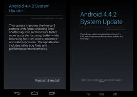 how to root android 4 4 2 android 4 4 2 update notification androguru