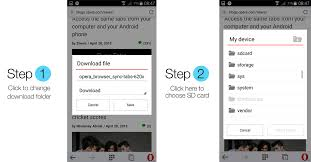 how to save to android 3 useful tips to surf more effectively with opera mini for android