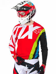 fox racing motocross fox australian motocross gear mx new v race bluered mtb bmx dirt