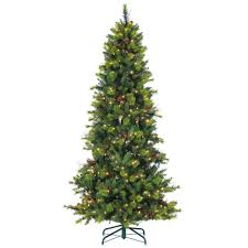sterling 7 5 ft pre lit mixed needle michigan spruce artificial