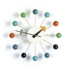 Herman Miller Clocks Modern Interior Design Nelson U0027s Ball Clock