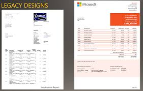 install report design templates ee finance u0026 operations
