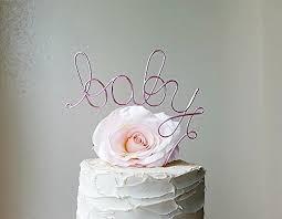 amazon com baby cake topper baby shower cake topper