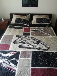 finally found star wars bedding for a queen size bed now my
