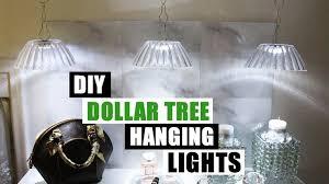 diy dollar tree hanging lights dollar store diy pendant lighting